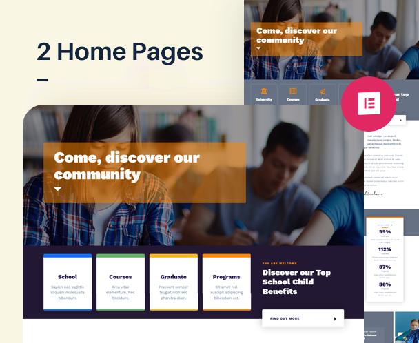 EdSchool - Education Template Kit - 1