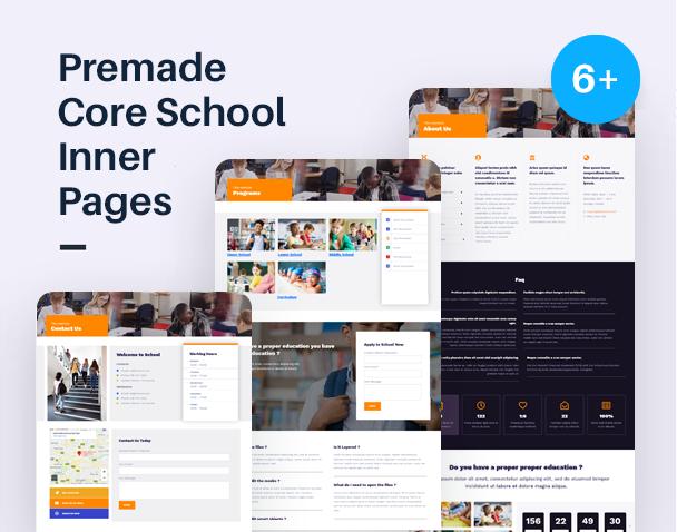 EdSchool - Education Template Kit - 2