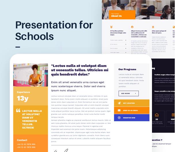 EdSchool - Education Template Kit - 3